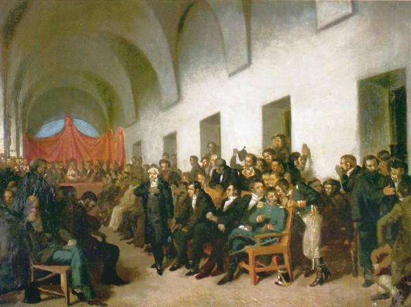Cabildo Abierto. Juan Manuel Bulnes.lnes