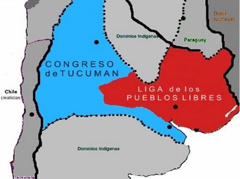 mapa-politico-de-argentina-en-1815