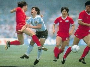 Maradona vs Corea '86