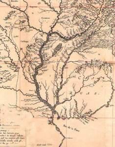 Mapa regional Siglo XVII