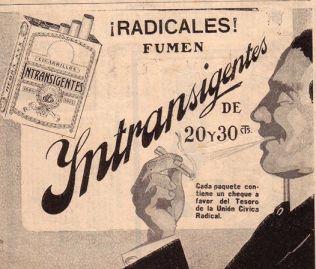 CIGARRILLOS INTRANSIGENTES