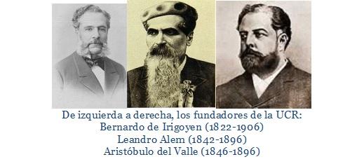 los tres radicales